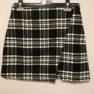 Wool mini skirt from Abercrombie.